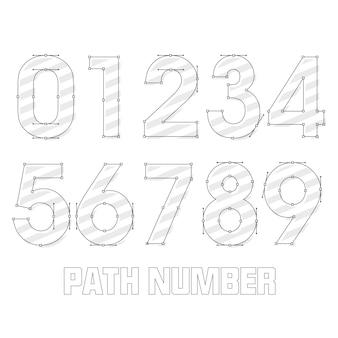 Numero del percorso