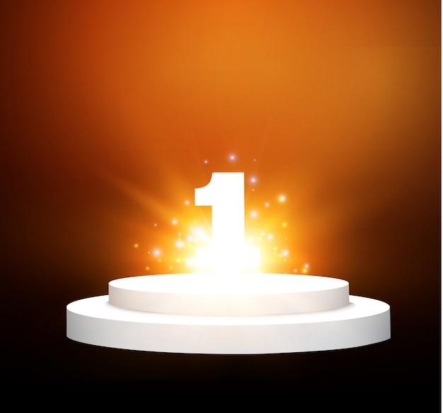 Numero uno sul podio