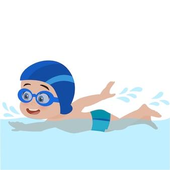 Nuoto bambino