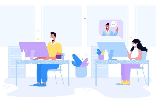 Nuova normalità in ufficio