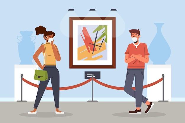 Nuova normalità nel concetto di musei