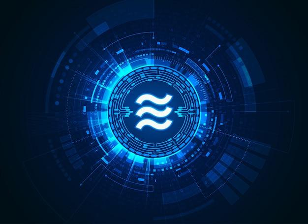 Nuova tecnologia della criptovaluta bilancia