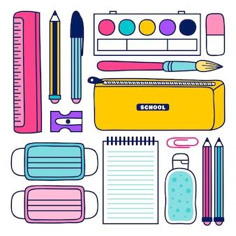 Nuove normali forniture scolastiche