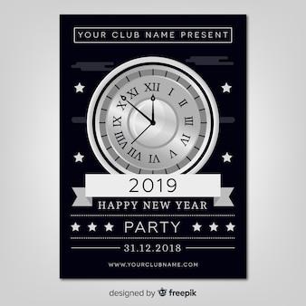 Nuovo anno 2019 partito volantino
