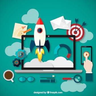 Nuovo concetto di progetto di business