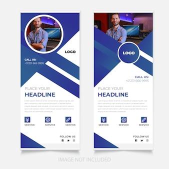 Nuovo design per banner roll up aziendale