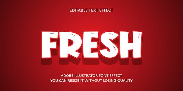 Nuovo effetto di testo modificabile