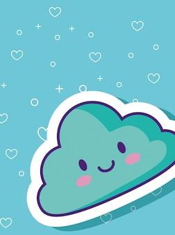 Nuvola kawaii