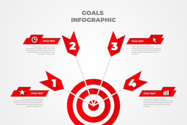 Obiettivi infografica