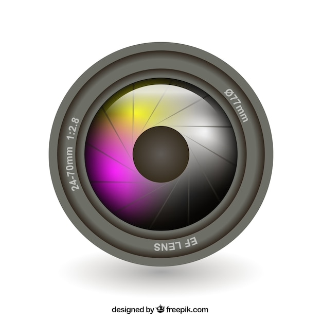Obiettivo della fotocamera