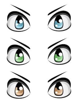 Occhi maschili