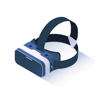 Occhiali realistici di realtà virtuale.