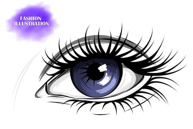 Occhio blu