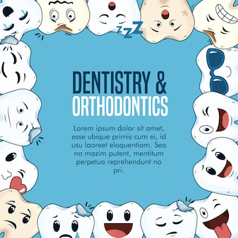 Odontoiatria medicina sanitaria con attrezzatura igienica