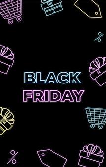 Offerta del black friday. acquisti online