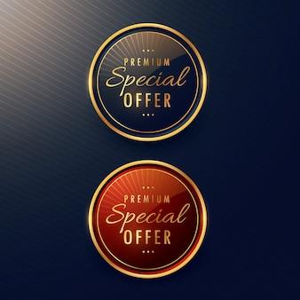 Offerta speciale set di progettazione di etichette