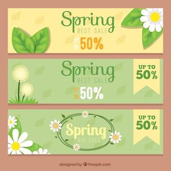 Offre banner di primavera