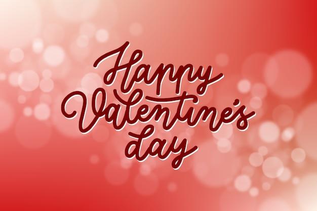 Offuscata carta da parati di san valentino