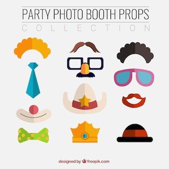Oggetti divertenti per photo booth