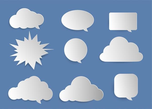 Oggetto parola nuvola carino.