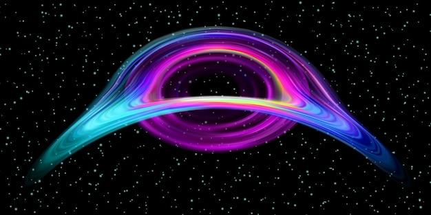 Oggetto spazio buco nero