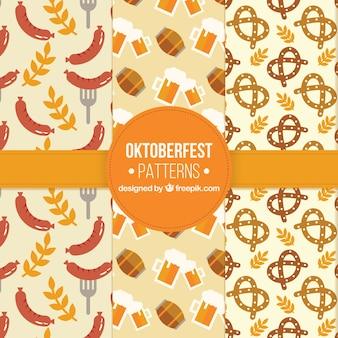 Oktoberfest, tre modelli piatti