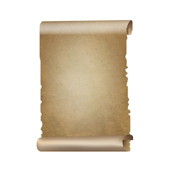 Old paper scrolls
