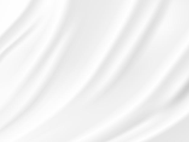Onda astratta bianco e grigio tono sfondo vettoriale