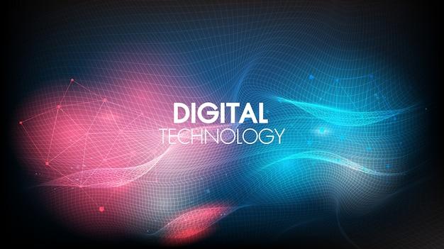 Onde geometriche e comunicazione del fondo astratto di tecnologia