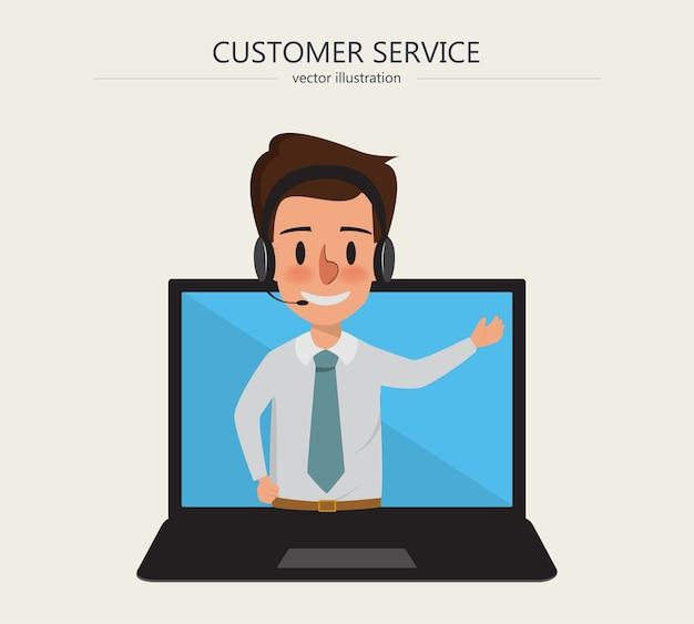Operatore di call center e servizio clienti