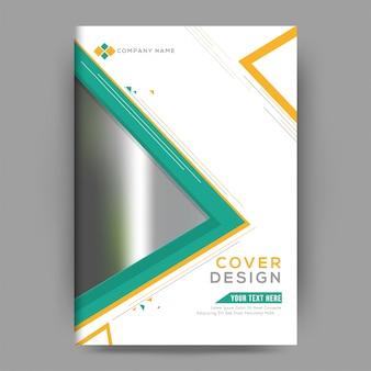 Opuscolo o design di copertina professionale