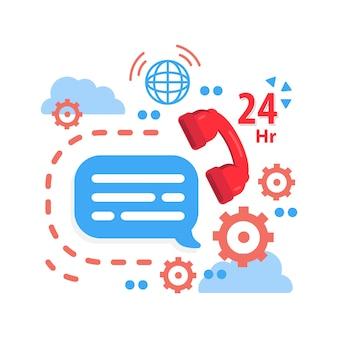 Orari di servizio, servizio clienti, supporto call center.