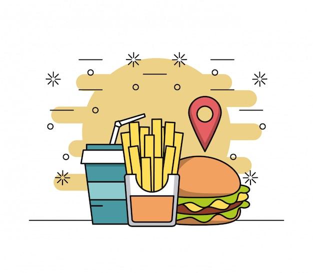Ordina ristorante cibo