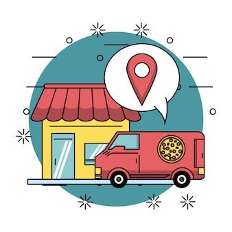 Ordine di cibo online