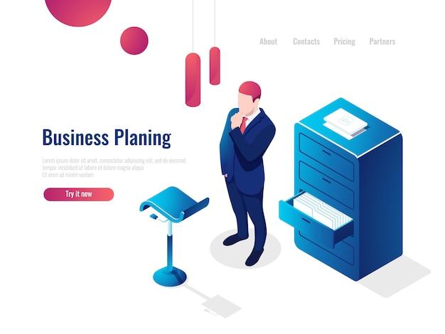 Organizzazione del processo lavorativo isometrico, lavoro con documenti, pratiche burocratiche