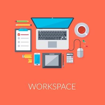 Organizzazione dello spazio di lavoro personale
