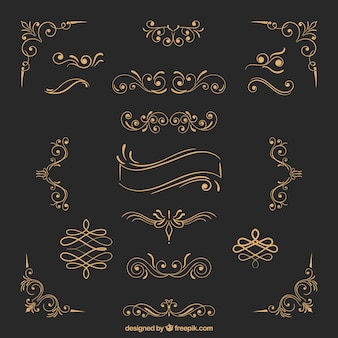 Ornamenti d'oro