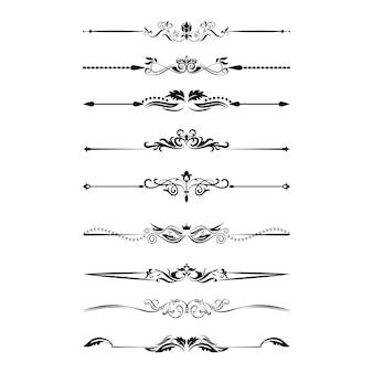 Ornamenti divisori