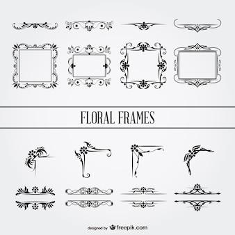 Ornamenti floreali download gratuito