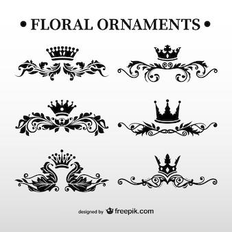 Ornamenti floreali pack