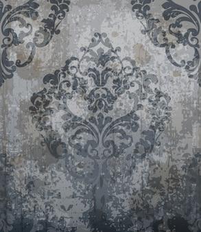 Ornamento barocco classico modello damascato