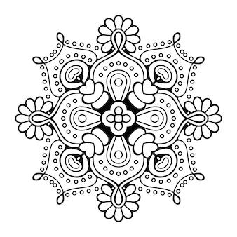 Ornamento di arabesque vettoriale