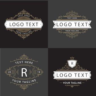 Ornamento luxury logo vector
