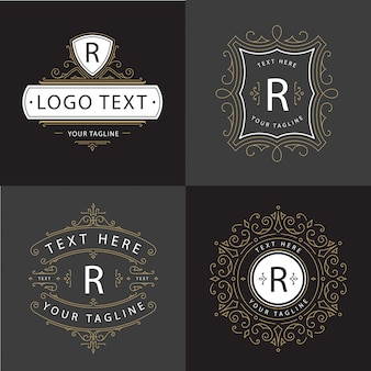 Ornamento luxury logo vector