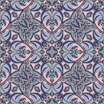 Ornamento tribale tappeto indiano