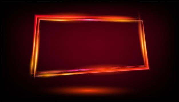 Oro bagliore di luce fiamma sfondo