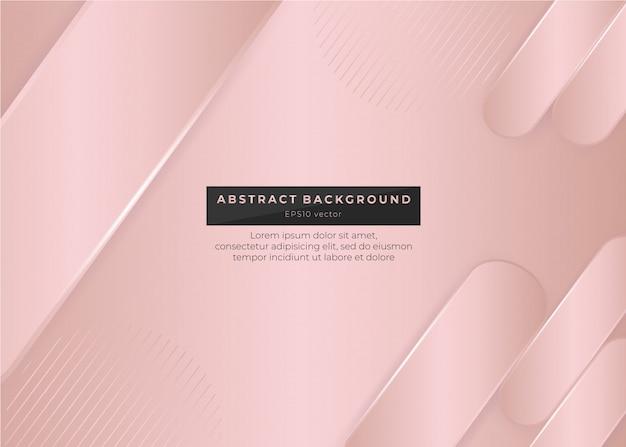 Oro rosa sfondo astratto