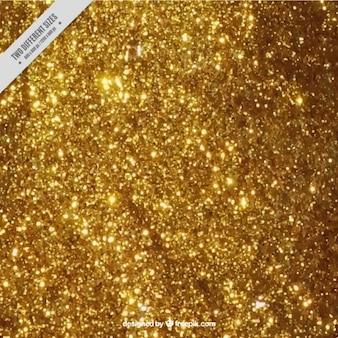 Oro su sfondo glitter