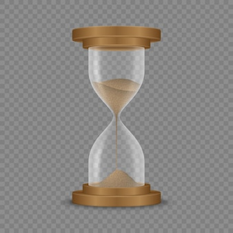 Orologio a clessidra di sabbia