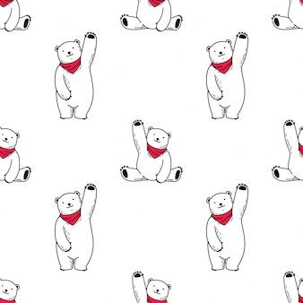 Orso senza cuciture polare